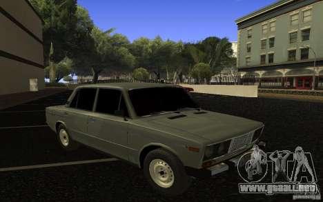 VAZ 2106 Tyumen para vista lateral GTA San Andreas