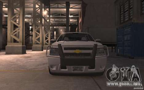 Chevrolet Avalanche v1.0 para GTA 4 vista interior