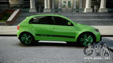 Volkswagen Gol Rallye 2012 v2.0 para GTA 4 vista interior