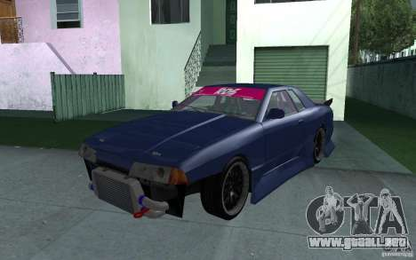 Elegy MS R32 para vista lateral GTA San Andreas