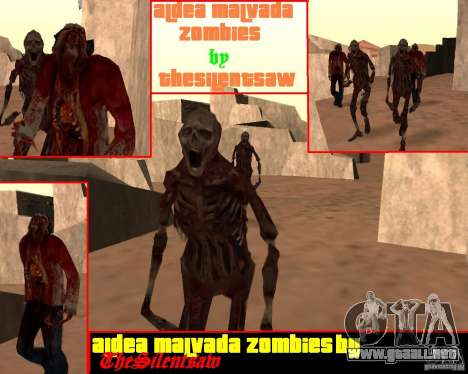 Zombie Half life 2 para GTA San Andreas