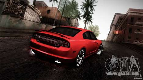 Dodge Charger SRT8 2012 para GTA San Andreas left