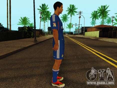 Cristiano Ronaldo v2 para GTA San Andreas segunda pantalla