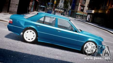 Mercedes-Benz W124 E500 1995 para GTA 4 left