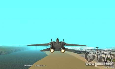 F14W Super Weirdest Tomcat Skin 2 para GTA San Andreas vista hacia atrás