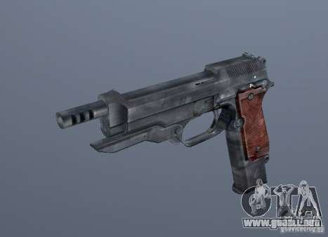 Grims weapon pack2 para GTA San Andreas sucesivamente de pantalla