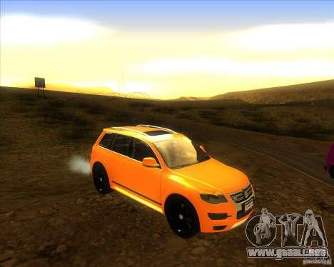 Volkswagen Touareg R50 para la visión correcta GTA San Andreas