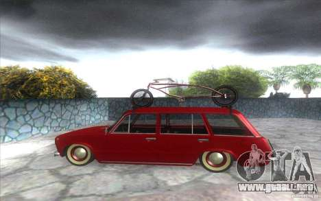 VAZ 2102 retro para GTA San Andreas left