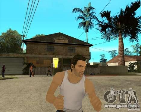 Piel Tommy Vercetti v1 FINAL para GTA San Andreas tercera pantalla