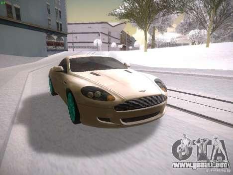 Aston Martn DB9 2008 para GTA San Andreas left