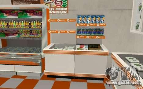 Nueva tienda de Dixie para GTA San Andreas sucesivamente de pantalla