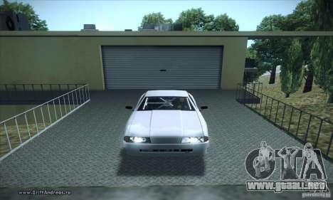 ENBSeries v5.0 Baby Blue para GTA San Andreas segunda pantalla