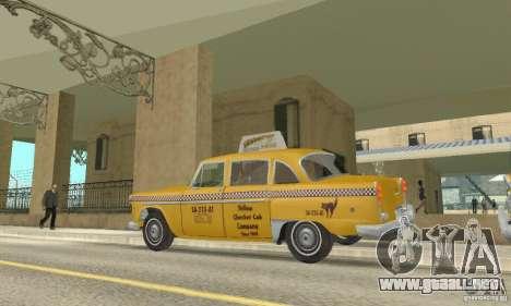 Checker Marathon 1977 Taxi para la visión correcta GTA San Andreas