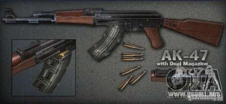 [Point Blank] AK47 ext para GTA San Andreas
