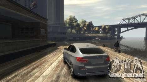 BMW X6M para GTA 4 visión correcta