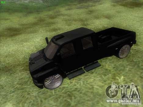 GMC C4500 Pickup DUB Style para la visión correcta GTA San Andreas
