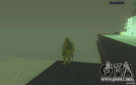 HD agua v2.0 para GTA San Andreas tercera pantalla