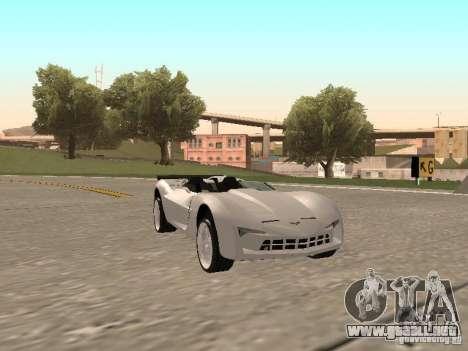 Chevrolet Corvette C7 Spyder para GTA San Andreas left