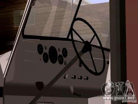 GAZ 51 pan para la visión correcta GTA San Andreas