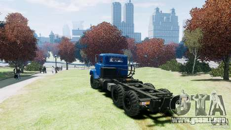KrAZ-6322 para GTA 4 visión correcta
