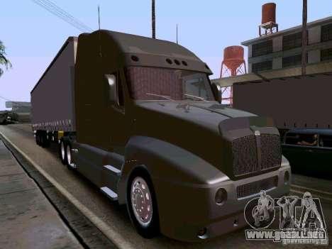 Kenworth T2000 v.2 para GTA San Andreas