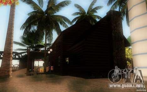 New Country Villa para GTA San Andreas quinta pantalla