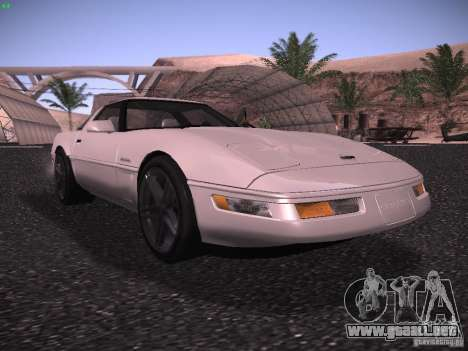 Chevrolet Corvette Grand Sport para GTA San Andreas left