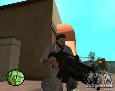 El Rifle de Ross para GTA San Andreas