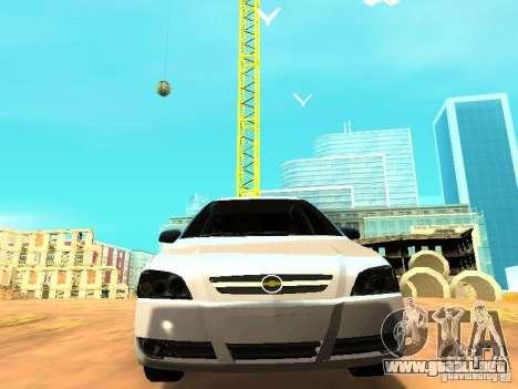 Chevrolet Astra Hatch 2010 para GTA San Andreas vista hacia atrás