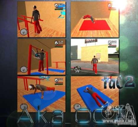 Training and Charging 2 para GTA San Andreas