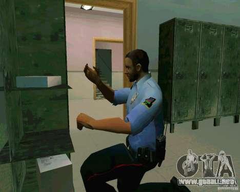Azeri Polis para GTA San Andreas quinta pantalla