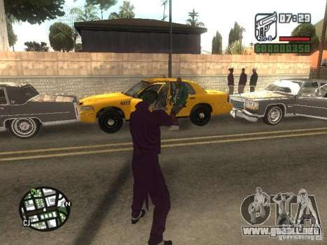 HQ Joker Skin para GTA San Andreas novena de pantalla