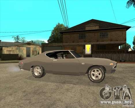 1969 Chevrolet Chevelle para la visión correcta GTA San Andreas