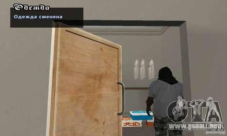 Campanas Assassinov para GTA San Andreas segunda pantalla