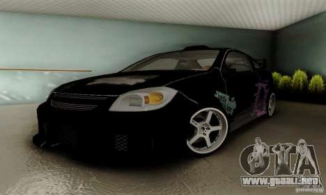 Chevrolet Cobalt SS para vista lateral GTA San Andreas