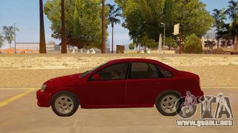 Buick Excelle para GTA San Andreas left