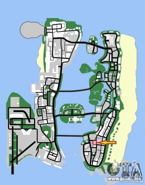 Shell Station para GTA Vice City sexta pantalla