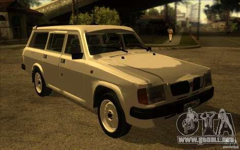 Volga GAZ 311021 para GTA San Andreas