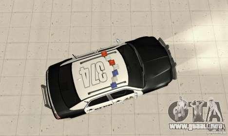 Chrysler 300C Police v2.0 para la visión correcta GTA San Andreas