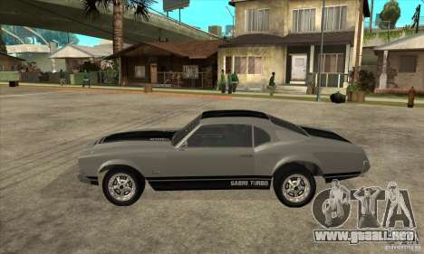Sable de GTA 4 para GTA San Andreas left