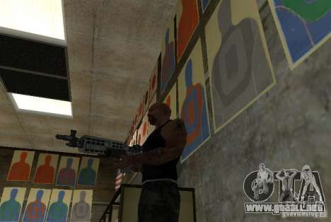 M14 EBR desde el Killing Floor para GTA San Andreas tercera pantalla