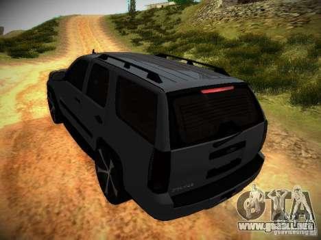 Chevrolet Tahoe HD Rimz para la vista superior GTA San Andreas