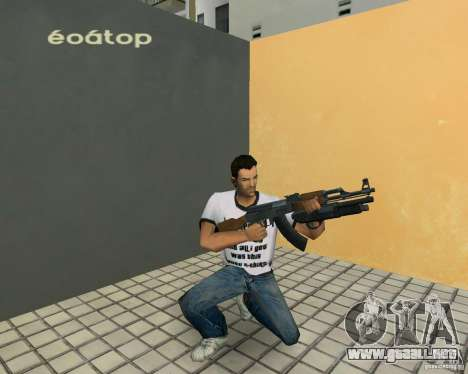 AK-47 con escopeta Underbarrel para GTA Vice City