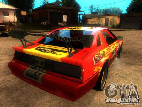Buffalo DTM v2 para GTA San Andreas left