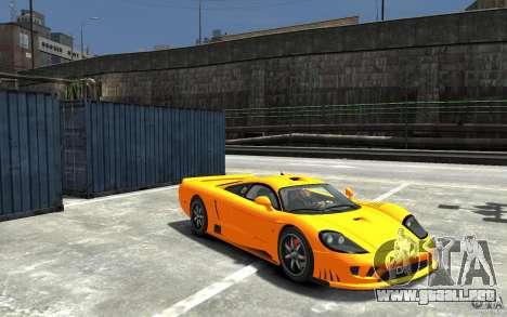 Saleen S7 para GTA 4 vista hacia atrás