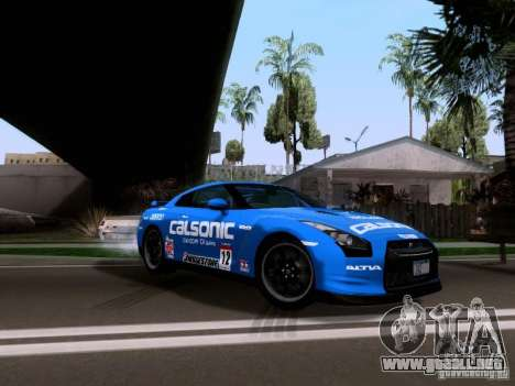 Nissan GTR 2010 Spec-V para GTA San Andreas