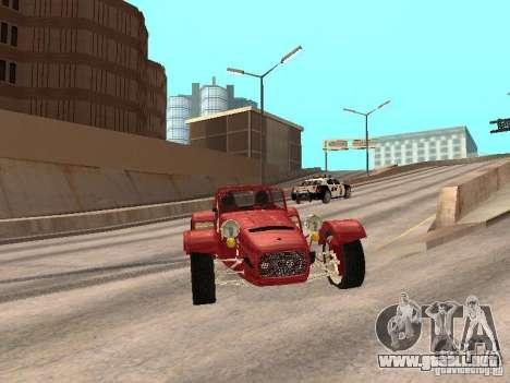 Caterham CSR 260 para GTA San Andreas