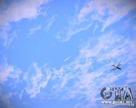 Real Clouds HD para GTA San Andreas tercera pantalla