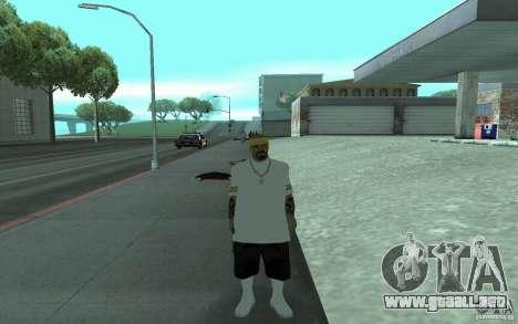 Nuevos aspectos Los Santos Vagos para GTA San Andreas quinta pantalla