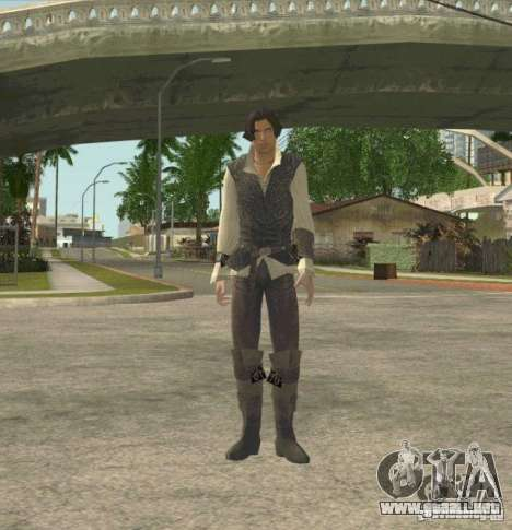 Assassins skins para GTA San Andreas segunda pantalla